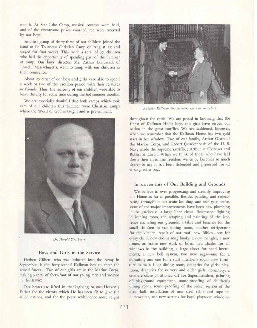 1945 Program Home Activities Pg 07