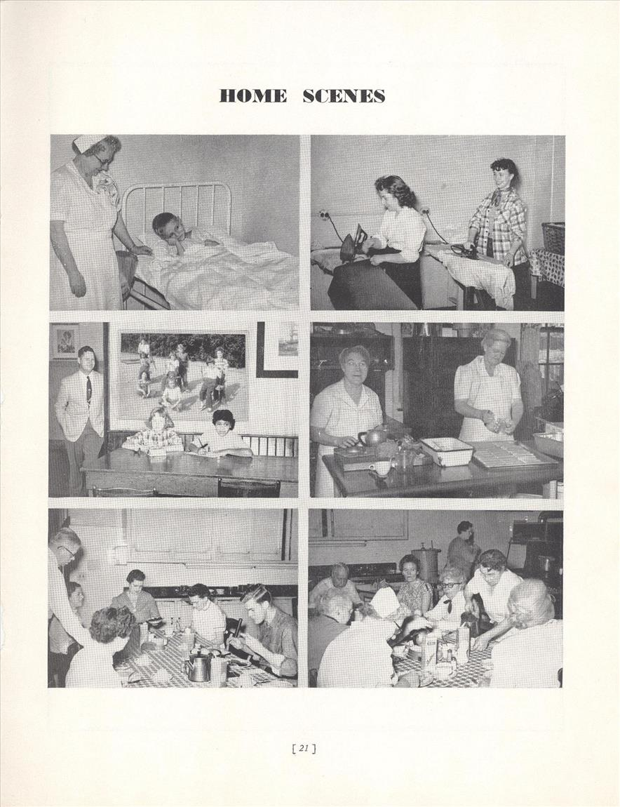Some 1949 Staff and Kids Activities resized