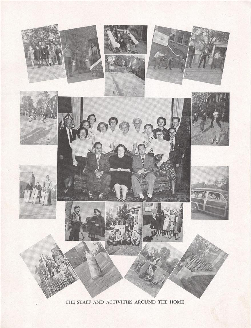 1949 Staff and Home Activities Photos resized